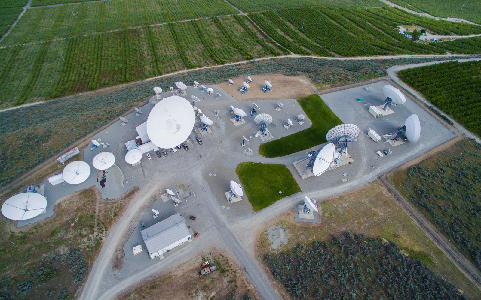 USEI is Currently Constructing Four New Ku-Antennas